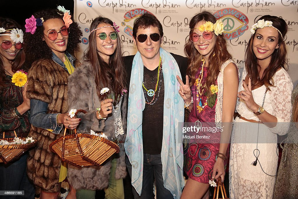 spesso Flower Power Party in Barcelona Photos and Images | Getty Images GP62