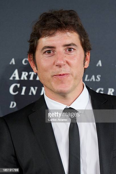 Manel Fuentes attends the 'Goya Film Awards 2014' press conference on October 18 2013 in Madrid Spain