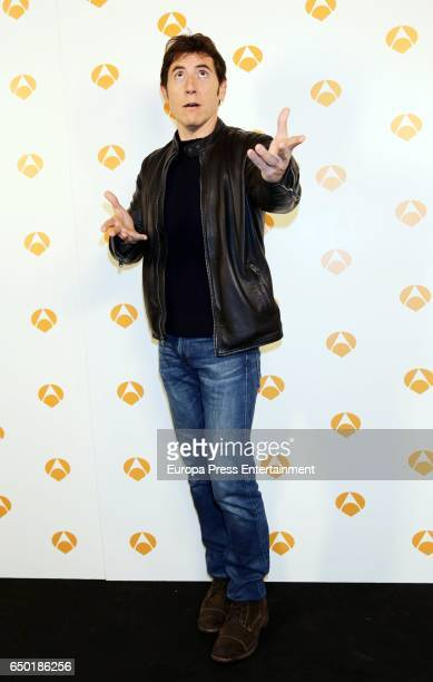 Manel Fuentes attends the presentation of 'Tu cara no me suena todavia' on March 8 2017 in Madrid Spain