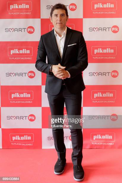 Manel Fuentes attends the 'Smart PK by Pikolin' photocall at La Casa del Lector on June 21 2017 in Madrid Spain