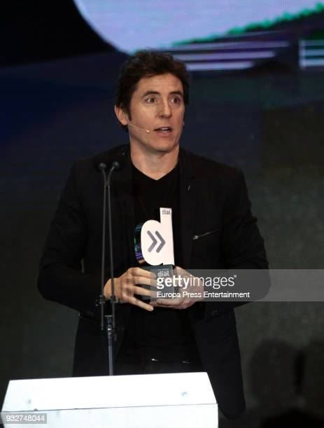 Manel Fuentes during the 'Cadena Dial' Awards gala 2018 on March 15 2018 in Tenerife Spain