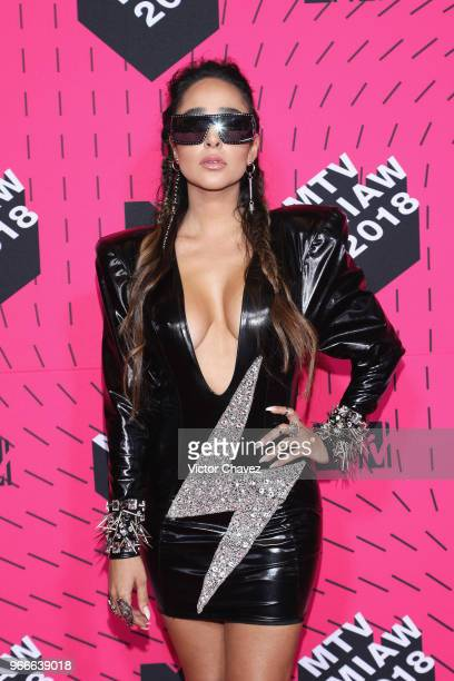 Manelyk Gonzalez 'Mane' of Acapulco Shore attends the MTV MIAW Awards 2018 at Arena Ciudad de Mexico on June 2 2018 in Mexico City Mexico