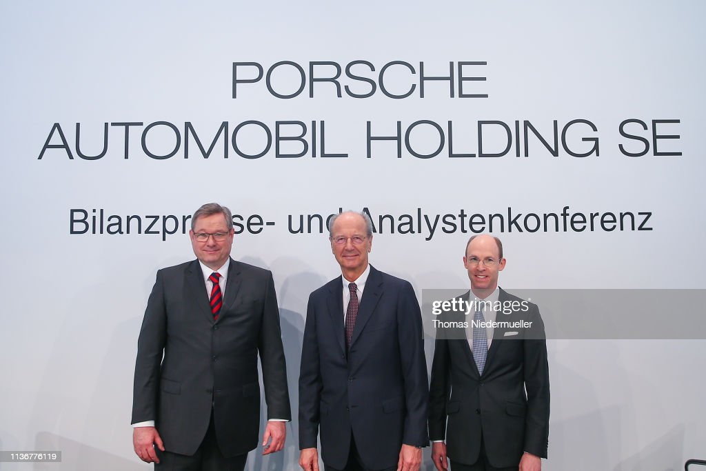 DEU: Porsche SE Annual Press Conference
