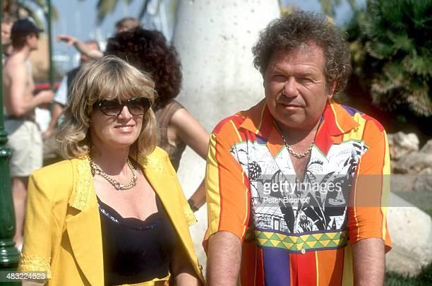 Manfred Durban und Ehefrau Helene 1 ZDFTVSpecial Die Flippers auf Mallorca zum 25jährigen Jubiläum am Insel Mallorca Balearen Spanien