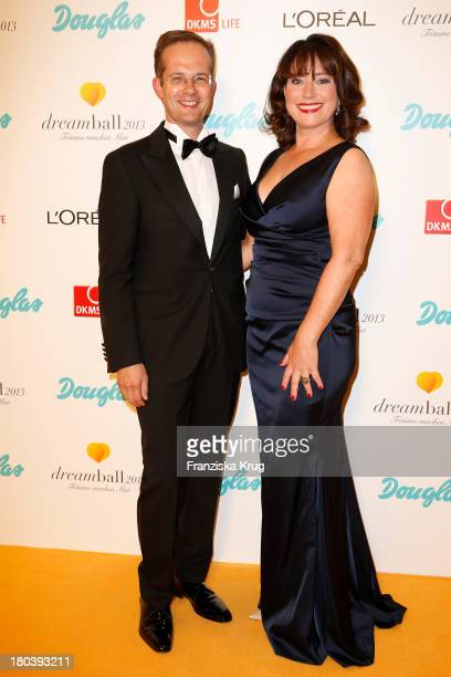 Manfred Kroneder and Ruth Neri attend the Dreamball 2013 charity gala at Ritz Carlton on September 12, 2013 in Berlin, Germany.