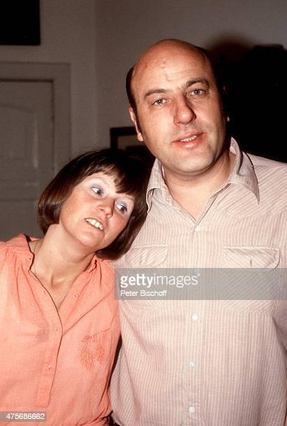 Manfred Krug Ehefrau Ottilie Homestory am in Berlin Deutschland