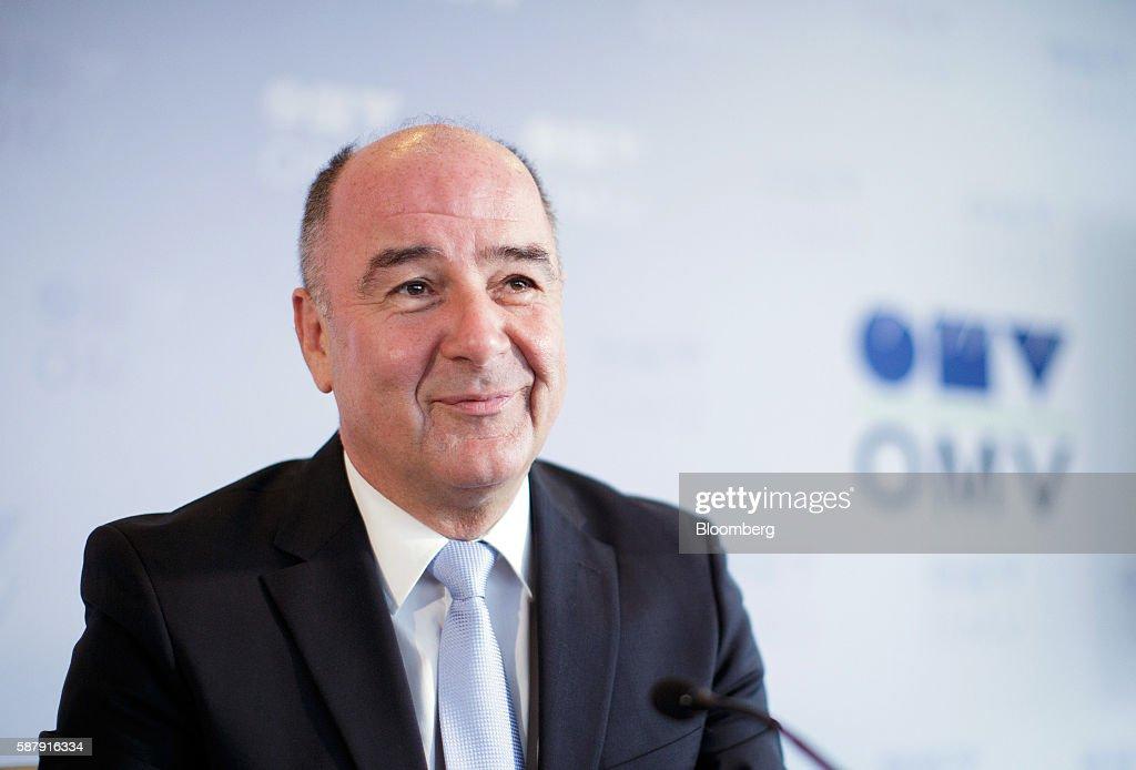 OMV AG Interim Earnings News Conference : News Photo