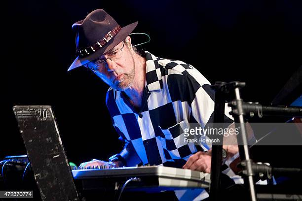Manfred Mann of Manfred Manns Earth Band performs live during a concert at the Admiralspalast on May 6 2015 in Berlin Germany