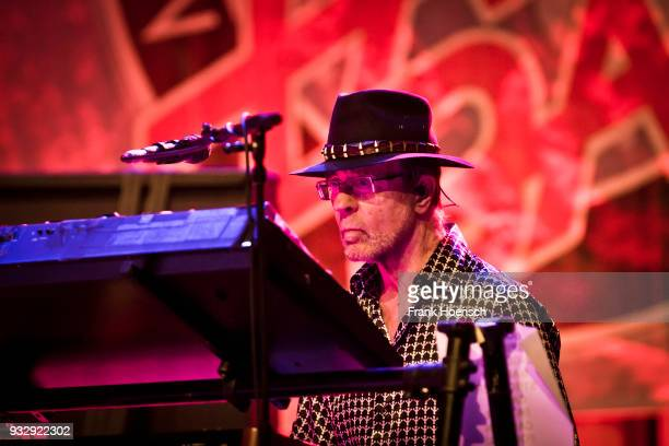 Manfred Mann of the British Manfred Mann's Earth Band performs live on stage during a concert at the ErnstReuterSaal on March 16 2018 in Berlin...