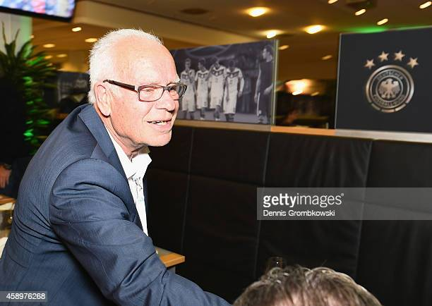 Manfred Ritschel attends the Club of former national players meeting at GrundigStadion on November 14 2014 in Nuremberg Germany