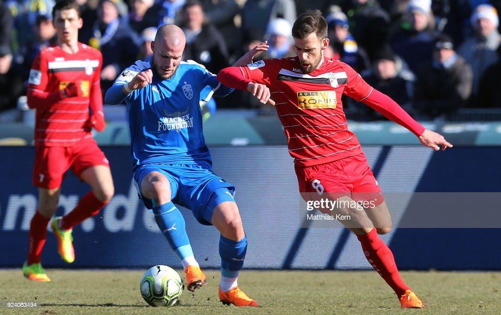 FC Carl Zeiss Jena v FC Rot-Weiss Erfurt - 3. Liga