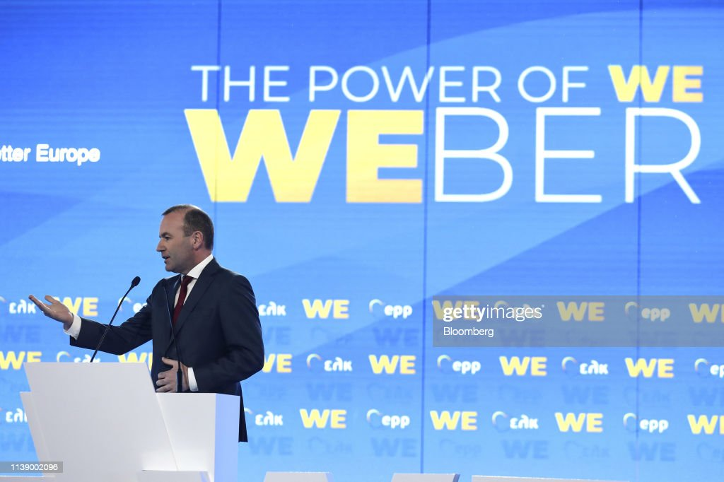 GRC: Manfred Weber Launches European Election Campaign
