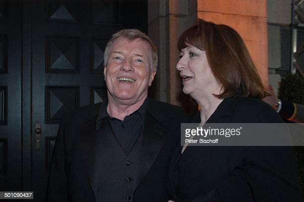 Manfred Zapatka Ehefrau Margarete Verleihung 22 Bayerischer Filmpreis 2008 München Bayern Deutschland Europa Schauspieler Promi JB FTP PNr 114/2008...