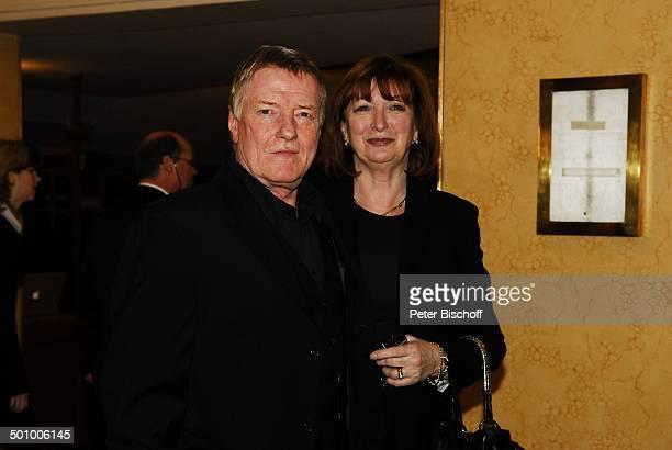 Manfred Zapatka Ehefrau Margarete Verleihung Bayerischer Filmpreis 2007 München Bayern Deutschland Prinzregententheater Preis Auszeichnung Gala...
