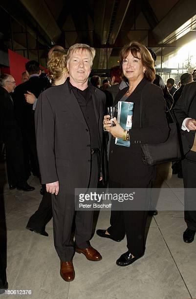 Manfred Zapatka Ehefrau Margarete Verleihung Grimme Preis 2002 Marl Frau