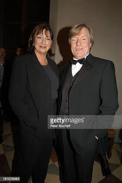 Manfred Zapatka Ehefrau Margarete Zapatka Verleihung Bayerischer Filmpreis München CuvilliŽs Theater Foyer