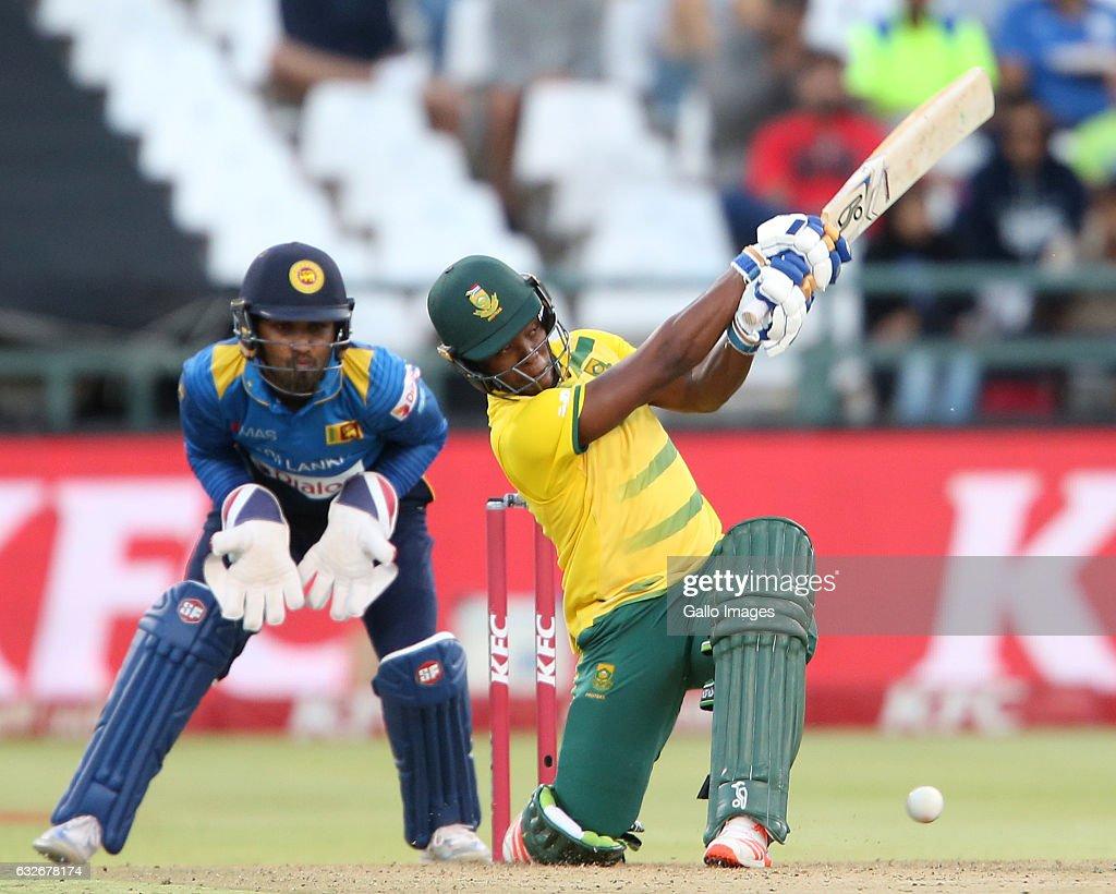 South Africa v Sri Lanka - 1st T20 : News Photo