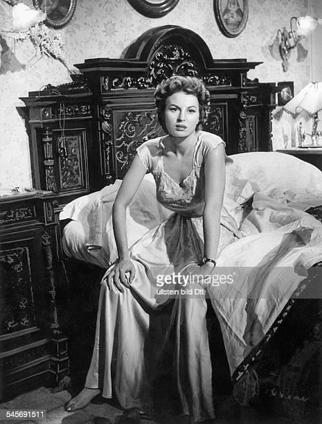 Mangano Silvana *Actress Italyin the movie iDirector Vittorio de Sica 1954