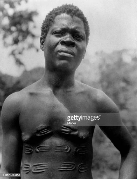 Mangbetu man, belgian congo, africa 1927 1930.