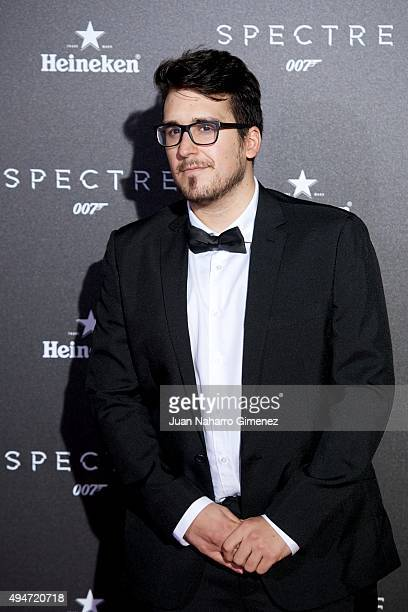 Mangel attends 'SPECTRE 007' premiere at Teatro Real on October 28 2015 in Madrid Spain