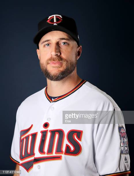 Manger Rocco Baldelli of the Minnesota Twins poses for a portrait during Minnesota Twins Photo Day on February 22 2019 at Hammond Stadium in Fort...