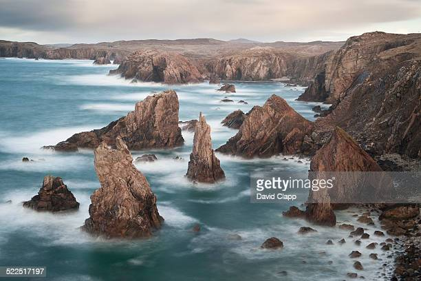 mangersta, isle of harris, scotland - david cliff stock pictures, royalty-free photos & images
