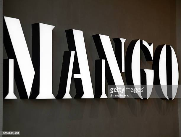 mango banner - designer label stock pictures, royalty-free photos & images