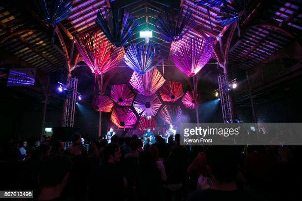 Mango Dassle of Mango MathMan performs at Metropolis Festival at RDS Concert Hall on October 28 2017 in Dublin Ireland