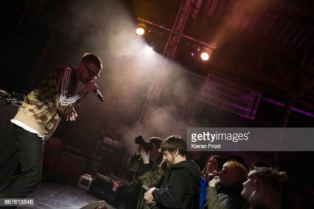Mango Dassle of Mango MathMan performs at Metropolis Festival at RDS Concert Hall on October 28 2017 in Dublin Ireland