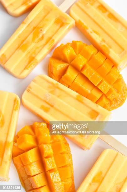 Mango Popsicles