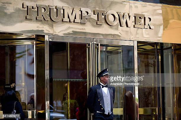 Manhattan, 5th Avenue, the entrance of Trump Tower building