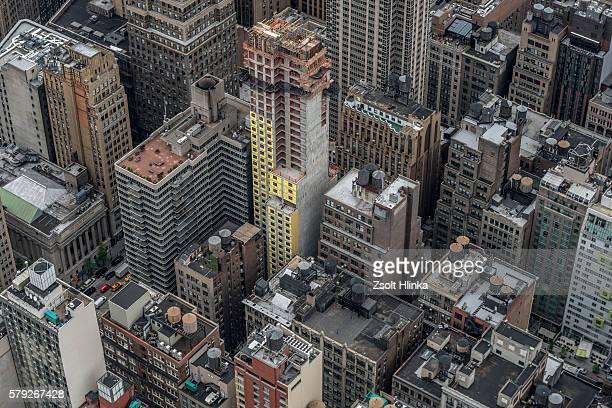 Manhattan aerial view, New York, USA