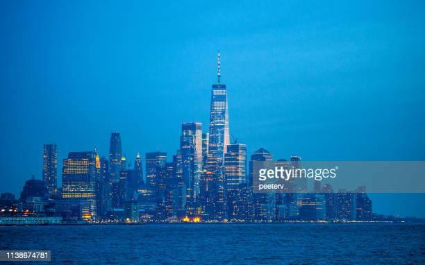 Manhattan after dark, New York City