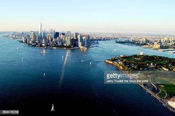 Manhattan and New York Harbor