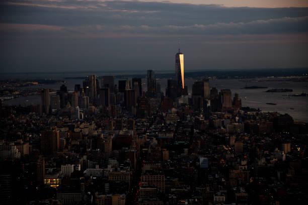 Manhattan and One World Trade Center