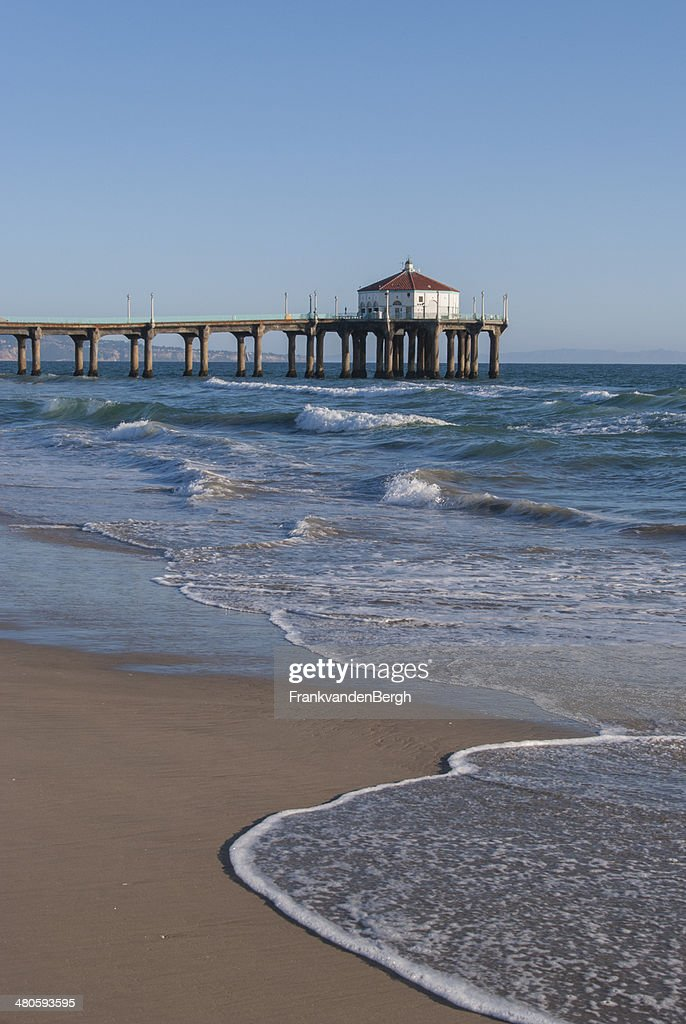 Manhattan Beach Pier : Stock Photo
