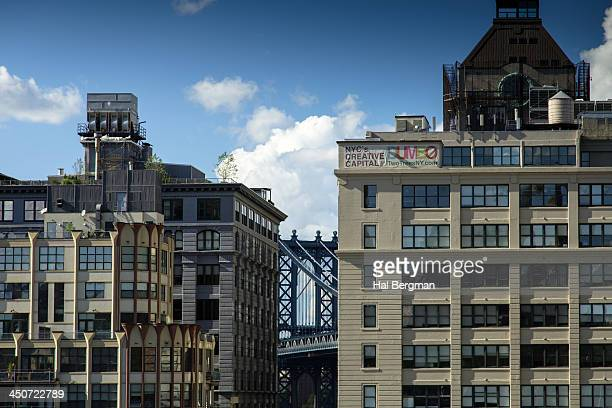 Manhattan Bridge and DUMBO Neighborhood