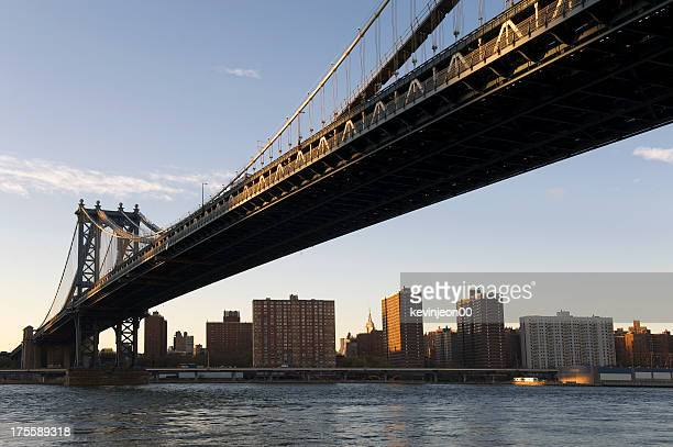 manhattan bridge - 20th century style stock pictures, royalty-free photos & images