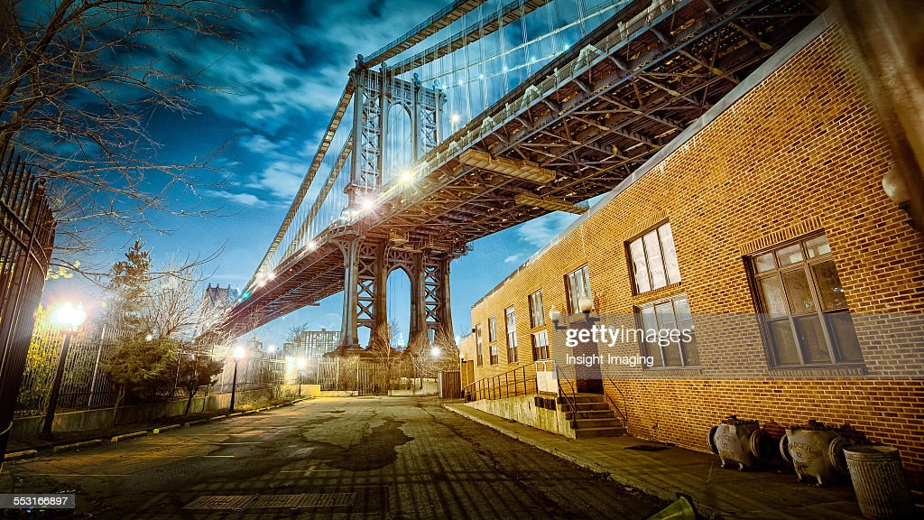 Manhattan Bridge : Stock Photo