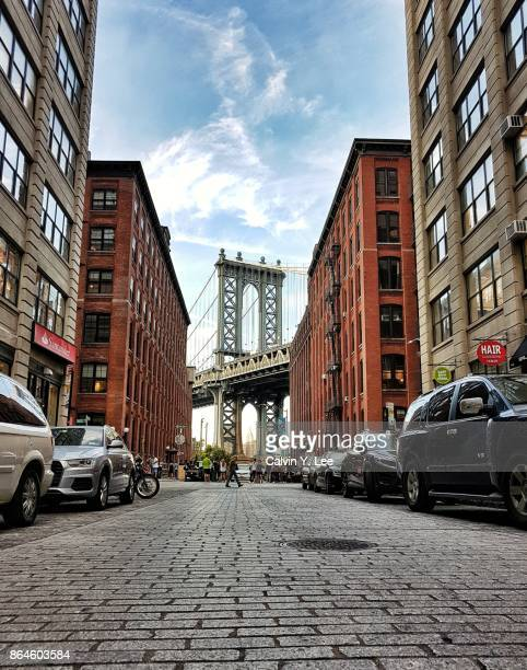 Manhattan Bridge seen from Brooklyn