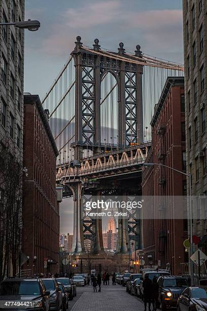 Manhattan Bridge viewed from DUMBO
