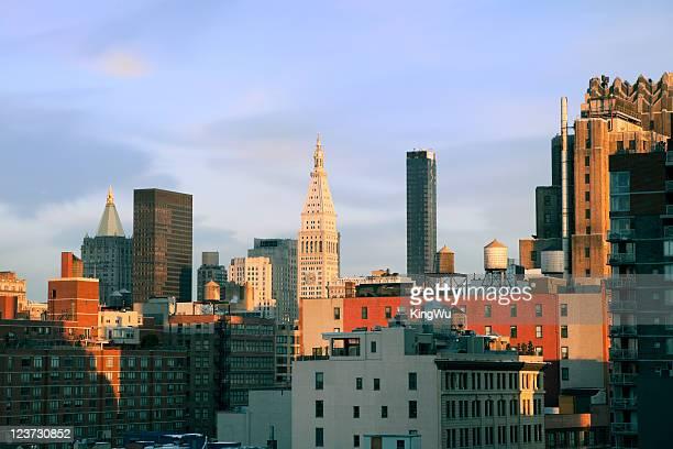 Manhattan Buildings in New York City