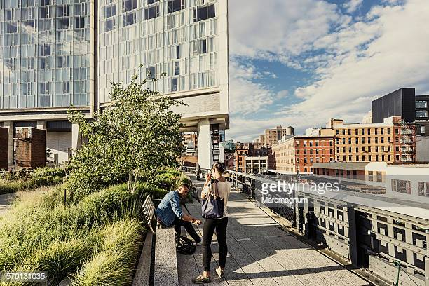 Manhattan, Chelsea, the High Line Elevated Park