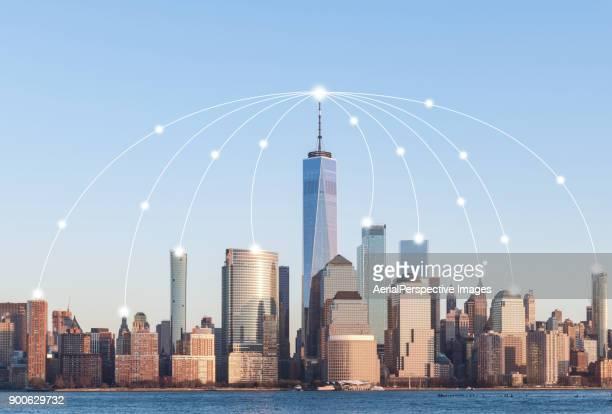 Manhattan City Network Technology