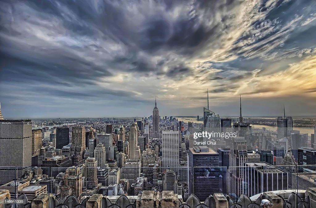 Manhattan cityscape : Stock Photo