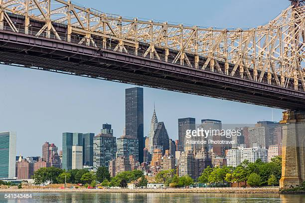 Manhattan, Ed Koch Queensboro Bridge and Midtown from Roosevelt Island