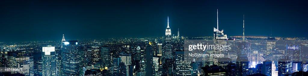 Manhattan depuis le toit : Photo
