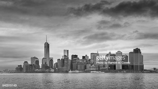 Manhattan in black & white