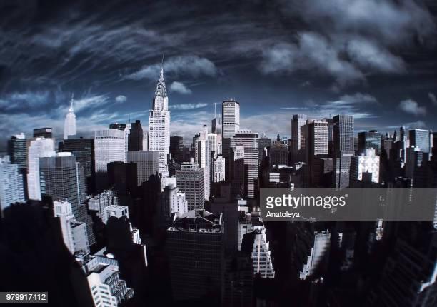 Manhattan in Infrared