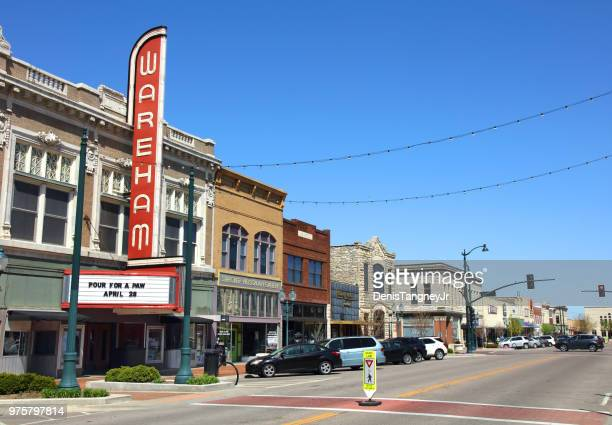 manhattan, kansas - manhattan kansas stock pictures, royalty-free photos & images
